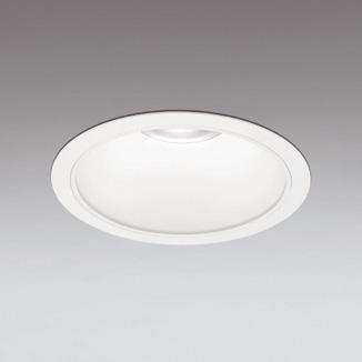 ☆ODELIC LEDベースダウンライト オフホワイト 68°防雨形 埋込穴Φ250mm 温白色 3500K  M形 一般型 専用調光器対応 XD301139 (電源・調光器・信号線別売) ※受注生産品