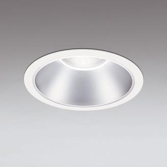☆ODELIC LEDベースダウンライト FHT42W×3灯相当 オフホワイト・銀色 60°防雨形 埋込穴Φ250mm 昼白色 5000K  M形 一般型 専用調光器対応 XD301161 (電源・調光器・信号線別売) ※受注生産品