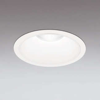 ☆ODELIC LEDベースダウンライト FHT42W×3灯相当 オフホワイト 31°防雨形 埋込穴Φ250mm 昼白色 5000K  M形 一般型 専用調光器対応 XD301181 (電源・調光器・信号線別売) ※受注生産品