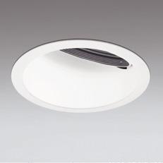☆ODELIC LED高効率ウォールウォッシャー セラメタ100W相当 オフホワイト 広拡散 埋込穴Φ150mm 電球色 3000K  M形 一般型 専用調光器対応 XD401145 (電源・調光器・信号線別売)