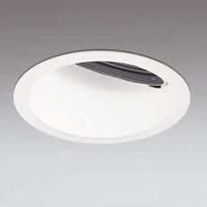 ☆ODELIC LED高効率ウォールウォッシャー CDM-TP70W相当 オフホワイト 広拡散 埋込穴Φ150mm 温白色 3500K  M形 一般型 専用調光器対応 XD401189 (電源・調光器・信号線別売)