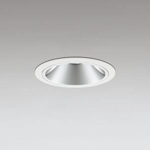 ☆ODELIC LEDベースダウンライト グレアレス JR12V50W相当 オフホワイト 28° 埋込穴Φ100mm 電球色 2700K  M形 一般型 専用調光器対応 XD403401H (電源・調光器・信号線別売)