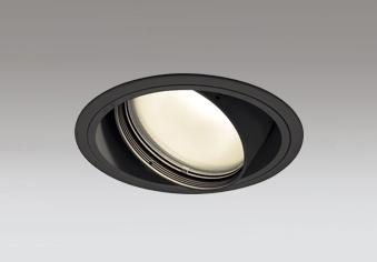 ☆ODELIC LED高効率ユニバーサルダウンライト CDM-T70W相当 ブラック 52° 埋込穴Φ150mm 電球色 3000K  M形 一般型 専用調光器対応 XD401369 (電源・調光器・信号線別売)