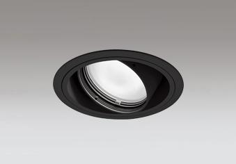 ☆ODELIC LED高効率ユニバーサルダウンライト CDM-T70W相当 ブラック 45° 埋込穴Φ125mm 温白色 3500K  M形 一般型 専用調光器対応 XD402298 (電源・調光器・信号線別売)