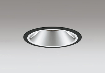 ☆ODELIC LEDベースダウンライト グレアレス CDM-T35W相当 ブラック 23° 埋込穴Φ125mm 電球色 2700K  M形 一般型 専用調光器対応 XD402355H (電源・調光器・信号線別売)