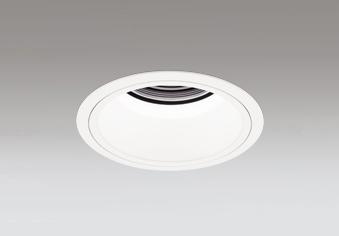 ☆ODELIC LEDベースダウンライト グレアレス CDM-T70W相当 オフホワイト 35° 埋込穴Φ125mm 白色 4000K  M形 一般型 専用調光器対応 XD402382 (電源・調光器・信号線別売)