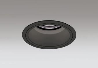 ☆ODELIC LEDベースダウンライト グレアレス CDM-T70W相当 ブラック 43° 埋込穴Φ125mm 温白色 3500K  M形 一般型 専用調光器対応 XD402393 (電源・調光器・信号線別売)