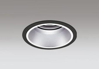 ☆ODELIC LEDベースダウンライト グレアレス CDM-T70W相当 ブラック・銀色 43° 埋込穴Φ125mm 白色 4000K  M形 一般型 専用調光器対応 XD402415 (電源・調光器・信号線別売)