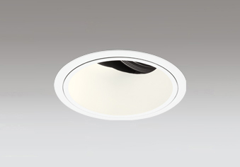 ☆ODELIC LED高彩色ユニバーサルダウンライト CDM-T70W相当 オフホワイト 24° 埋込穴Φ125mm 電球色 2700K  M形 一般型 専用調光器対応 XD402468H (電源・調光器・信号線別売)