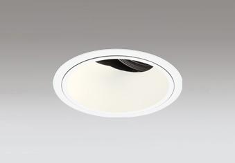 ☆ODELIC LED高彩色ユニバーサルダウンライト CDM-T70W相当 オフホワイト 41° 埋込穴Φ125mm 電球色 3000K  M形 一般型 専用調光器対応 XD402482H (電源・調光器・信号線別売)