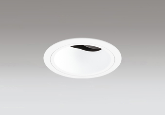 ☆ODELIC LED高効率ユニバーサルダウンライト CDM-T35W相当 オフホワイト 42° 埋込穴Φ100mm 白色 4000K  M形 一般型 専用調光器対応 XD403495 (電源・調光器・信号線別売)