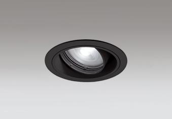 ☆ODELIC LEDユニバーサルダウンライト JR12V50W相当 ブラック 34° 埋込穴Φ100mm 2700K~5000K  Bluetooth調光・調色 一般型 専用リモコン対応 XD403548BC (電源・リモコン別売)