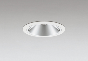☆ODELIC LEDベースダウンライト グレアレス CDM-T35W相当 オフホワイト 22° 埋込穴Φ100mm 電球色 3000K  M形 一般型 専用調光器対応 XD403649 (電源・調光器・リモコン・信号線別売)
