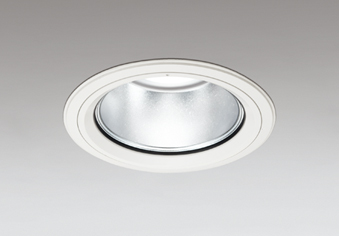☆ODELIC LEDベースダウンライト セラメタ150W相当 オフホワイト 60° 埋込穴Φ150mm 白色 4000K  M形 一般型 専用調光器対応 XD404043 (電源・調光器・リモコン・信号線別売)
