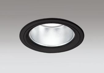 セラメタ150W相当 専用調光器対応 白色 埋込穴Φ150mm XD404044 一般型 ☆ODELIC  LEDベースダウンライト ブラック 4000K M形 60° (電源・調光器・リモコン・信号線別売)