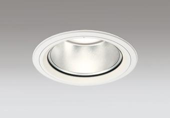 ☆ODELIC LEDベースダウンライト セラメタ150W相当 オフホワイト 60° 埋込穴Φ150mm 電球色 3000K  M形 一般型 専用調光器対応 XD404047 (電源・調光器・リモコン・信号線別売)