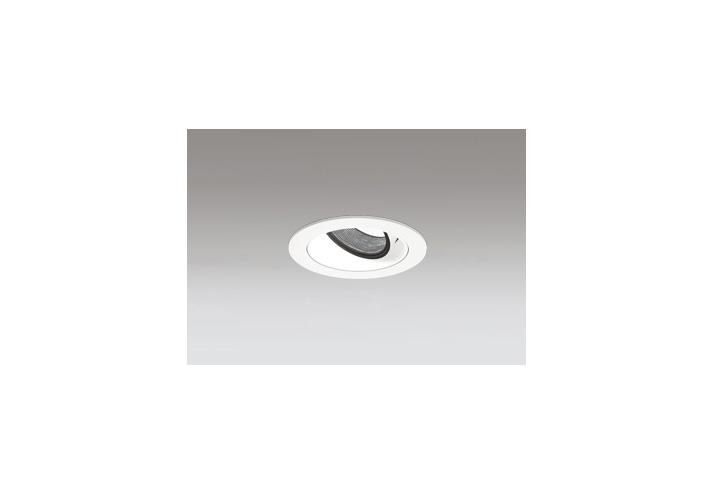 ☆ODELIC LED高彩色ユニバーサルダウンライト JR12V50W相当 オフホワイト 16° 埋込穴Φ75mm 温白色 3500K  M形 一般型 専用調光器対応 XD603117HC (調光器別売)