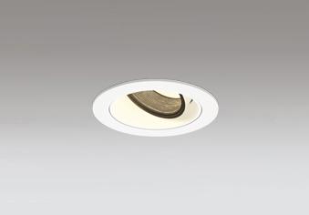 ☆ODELIC LED高彩色ユニバーサルダウンライト JR12V50W相当 オフホワイト 16° 埋込穴Φ75mm 電球色 3000K  M形 一般型 専用調光器対応 XD603121HC (調光器別売)