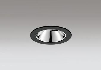 ☆ODELIC LEDユニバーサルダウンライト グレアレス JR12V50W相当 ブラック 20° 埋込穴Φ75mm 電球色 2500K  M形 一般型 専用調光器対応 XD603148HC (調光器別売)