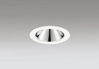 ☆ODELIC LED高彩色ベースダウンライト JR12V50W相当 オフホワイト 18° 埋込穴Φ75mm 電球色 2500K  M形 一般型 専用調光器対応 XD603161HC (調光器別売)