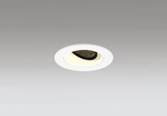 ☆ODELIC LED高彩色ユニバーサルダウンライト JDR110V75W相当 オフホワイト 19° 埋込穴Φ60mm 電球色 2500K  M形 一般型 専用調光器対応 XD604129HC (調光器別売)