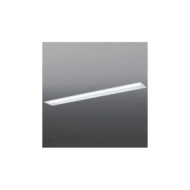 ☆KOIZUMI LEDベースライト Hf32W×1灯・高出力相当 (ランプ付) 白色 4000K 専用調光器対応 AD92030L+AE49468L