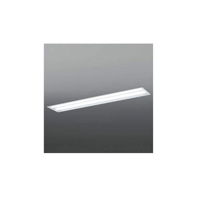 ☆KOIZUMI LEDベースライト FLR40W×2灯×2相当 (ランプ付) 白色 4000K AD92031L+AE49428L