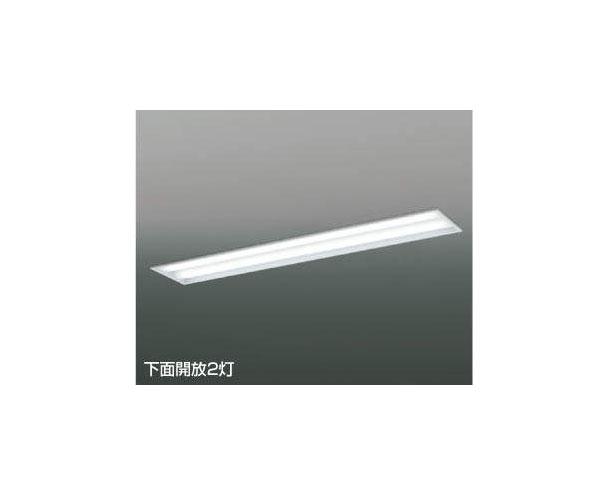 ☆KOIZUMI LEDベースライト FLR40W×2灯×2相当 (ランプ付) 昼白色 5000K AD92031L+AE49429L