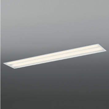 ☆KOIZUMI LEDベースライト FLR40W×2灯×2相当 (ランプ付) 温白色 3500K 専用調光器対応 AD92031L+AE49463L