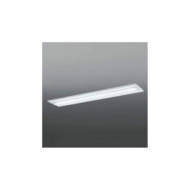 ☆KOIZUMI LEDベースライト Hf32W×2灯・高出力相当 (ランプ付) 昼白色 5000K 専用調光器対応 AD92036L+AE49457L