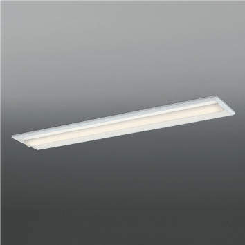 ☆KOIZUMI LEDベースライト Hf32W×1灯・高出力相当 (ランプ付) 温白色 3500K 専用調光器対応 AD92036L+AE49467L