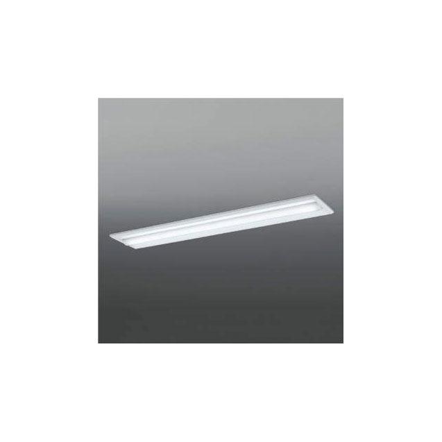 ☆KOIZUMI LEDベースライト Hf32W×1灯・高出力相当 (ランプ付) 白色 4000K 専用調光器対応 AD92036L+AE49468L