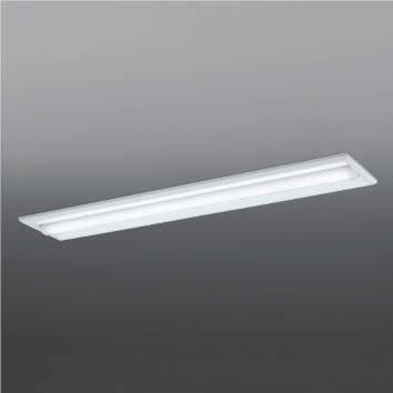 ☆KOIZUMI LEDベースライト Hf32W×1灯・定格出力相当 (ランプ付) 白色 4000K 専用調光器対応 AD92036L+AE49472L