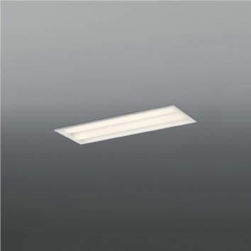 ☆KOIZUMI LEDベースライト Hf16W×2灯・高出力×2相当 (ランプ付) 温白色 3500K AD92043L+AE49443L