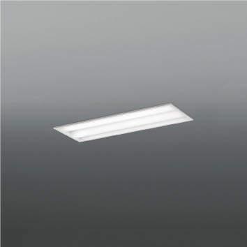 ☆KOIZUMI LEDベースライト Hf16W×2灯・高出力×2相当 (ランプ付) 白色 4000K 専用調光器対応 AD92043L+AE49480L