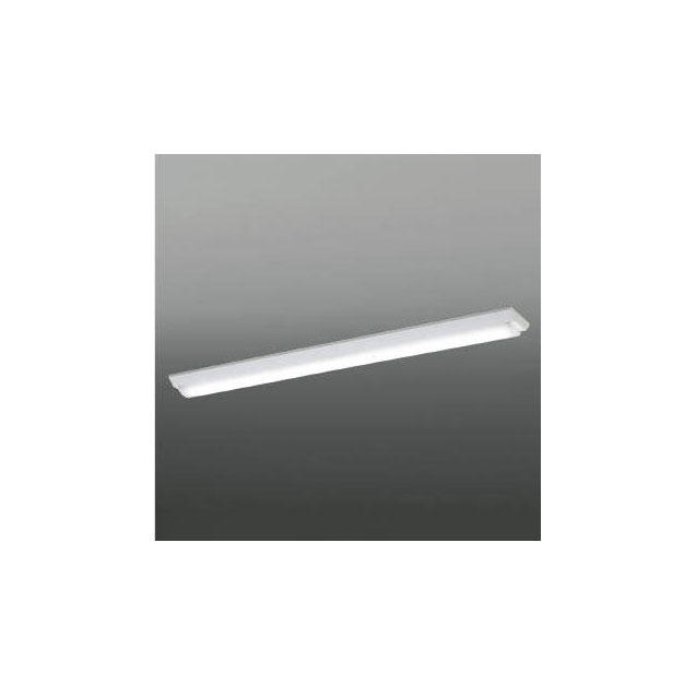☆KOIZUMI LEDベースライト Hf32W×2灯・定格出力相当 (ランプ付) 白色 4000K 専用調光器対応 AH92025L+AE49460L