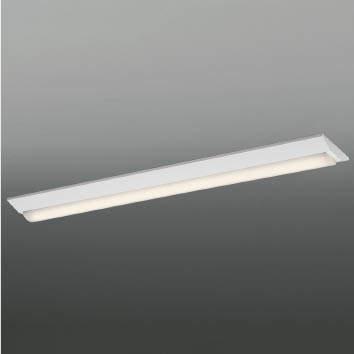 ☆KOIZUMI LEDベースライト Hf32W×1灯・高出力相当 (ランプ付) 温白色 3500K 専用調光器対応 AH92026L+AE49467L