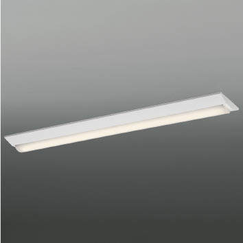 ☆KOIZUMI LEDベースライト FLR40W×1灯相当 (ランプ付) 温白色 3500K 専用調光器対応 AH92026L+AE49475L