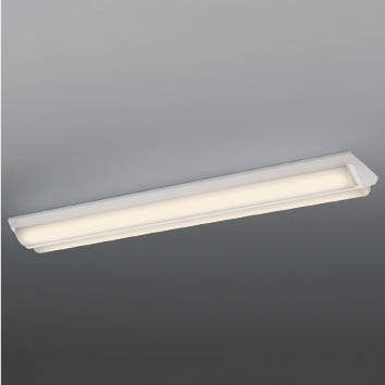 ☆KOIZUMI LEDベースライト Hf32W×2灯・定格出力×2相当 (ランプ付) 電球色 3000K AH92027L+AE49422L