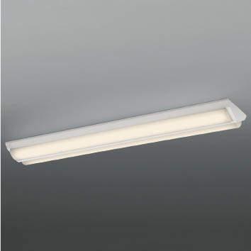 ☆KOIZUMI LEDベースライト Hf32W×1灯・定格出力×2相当 (ランプ付) 電球色 3000K AH92027L+AE49434L