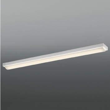 ☆KOIZUMI LEDベースライト Hf32W×2灯・高出力相当 (ランプ付) 電球色 3000K AH92028L+AE49418L