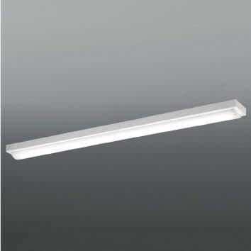 ☆KOIZUMI LEDベースライト Hf32W×1灯・高出力相当 (ランプ付) 白色 4000K 専用調光器対応 AH92028L+AE49468L