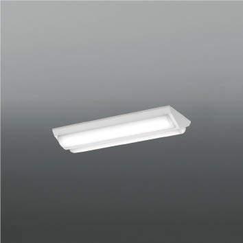 ☆KOIZUMI LEDベースライト Hf16W×1灯・高出力×2相当 (ランプ付) 白色 4000K 専用調光器対応 AH92039L+AE49484L