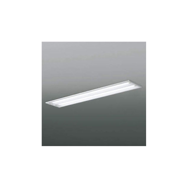 ☆KOIZUMI LEDベースライト FLR40W×2相当 (ランプ付) 白色 4000K 専用調光器対応 XD90004L+XE41274L