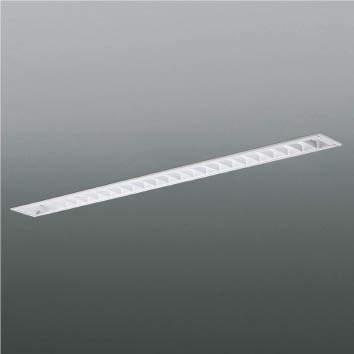 ☆KOIZUMI LEDベースライト FLR40W×2相当 (ランプ付) 白色 4000K 専用調光器対応 XD90062L+XE41274L