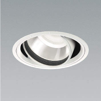 ☆KOIZUMI LEDユニバーサルダウンライト φ150mm HID100W相当 (ランプ・電源付) 白色 4000K XD91050L+XE44223L