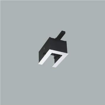 ☆KOIZUMI リニアバンクシステムパーツ エンドパーツ 給電側 ファインホワイト塗装 XE46272E ※受注生産品