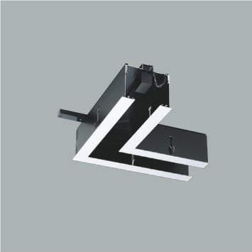 ☆KOIZUMI リニアバンクシステムパーツ コーナーパーツ 給電側 ファインホワイト塗装 XE48000E ※受注生産品