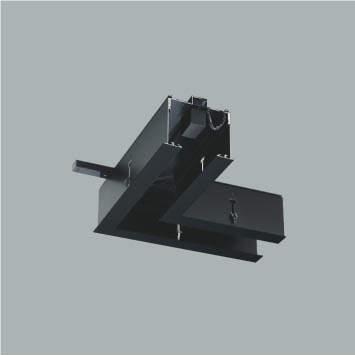 ☆KOIZUMI リニアバンクシステムパーツ コーナーパーツ 給電側 黒色仕上げ XE48001E ※受注生産品