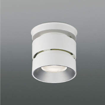 ☆KOIZUMI LEDシーリングダウンライト HID100W相当 (ランプ・電源付) 白色 4000K XH91153L+XE91663E